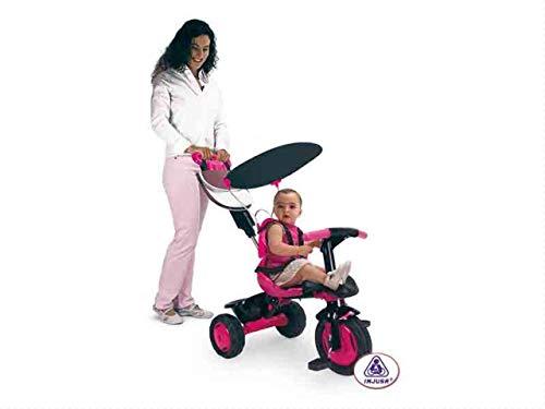 INJUSA - Triciclo Free Pink con cesta trasera, color rosa (3372)