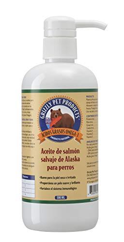 Natural Greatness Aceite de Salmón Salvaje de Alaska Grizzly. Producto