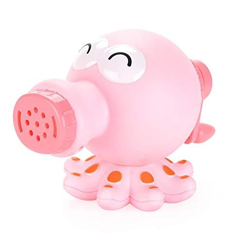 QiKun-Home Juguete para niños DIY Arcilla plástico Color Molde de Arcilla Pulpo máquina de Fideos Molde de Cocina Hecho a Mano Juguete de plastilina Rosa