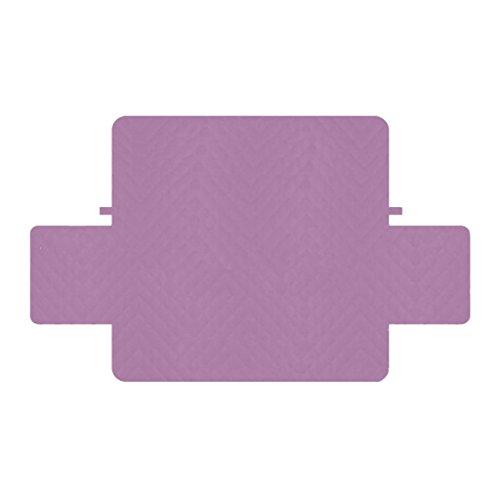 perfk Fodera per Divano a 2 Posti, Poltrona, Poltrona, Protettore, Mobili, Fodera per Decorazione - Viola, 3- posti