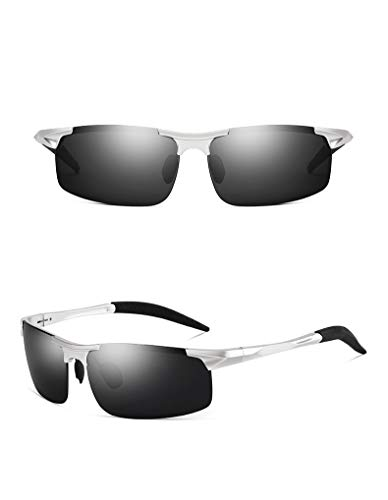 thematys Gafas de sol para hombre y mujer polarizadas - Gafas de sol deportivas UV400 perfectas para ciclismo, motocicleta, pesca, carrera y deportes en general
