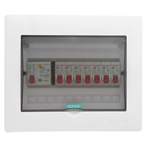 Visible Distribución Caja, Guía Carril Instalación con El plastico 230/400v Circuito Interruptor automático