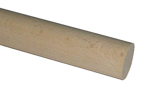 Rundholz Buche 35 mm, glatt, verschiedene Längen wählbar / Rundstab (100 cm)