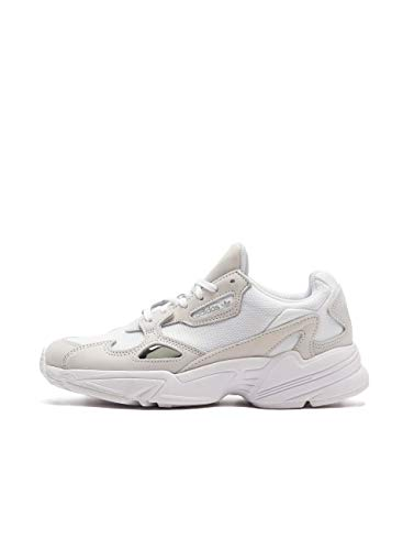 adidas Womens Falcon W Sneaker, Cloud White/Cloud White/Crystal White, 37 1/3 EU