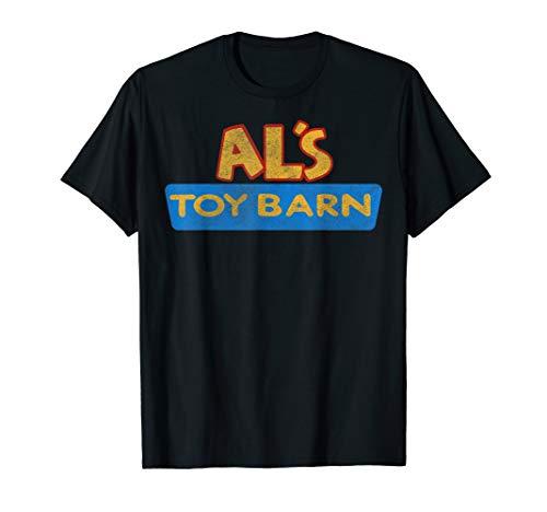Disney Pixar Toy Story Al s Toy Barn Distressed Logo T-Shirt
