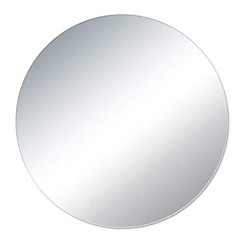 qazxsw Badezimmerspiegel Wand-Badezimmerspiegel Rahmenloser Kosmetikspiegel Europäisches Badezimmer Einfacher Schminkspiegel Wohnzimmerspiegel