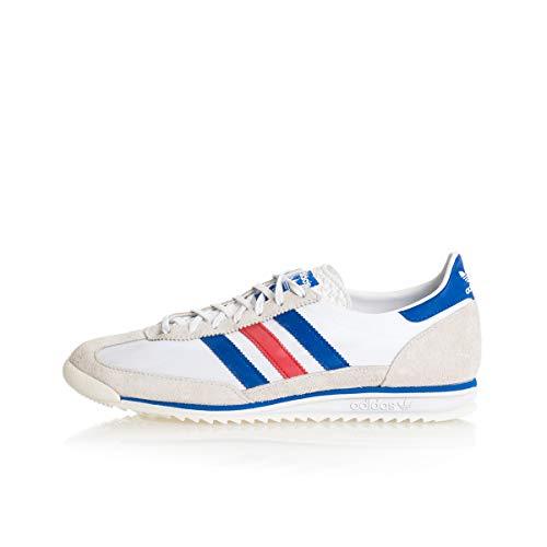 adidas Originals SL 72, Footwear White-Glory Blue-Glory Red, 4,5