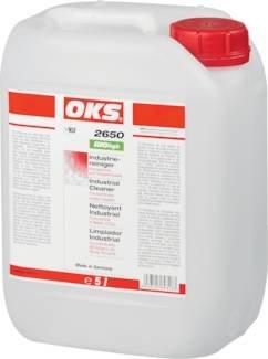 OKS-Reiniger Gebinde:5l Kanister Beschreibung:OKS 2650, BIOlogic Industriereiniger Konz.