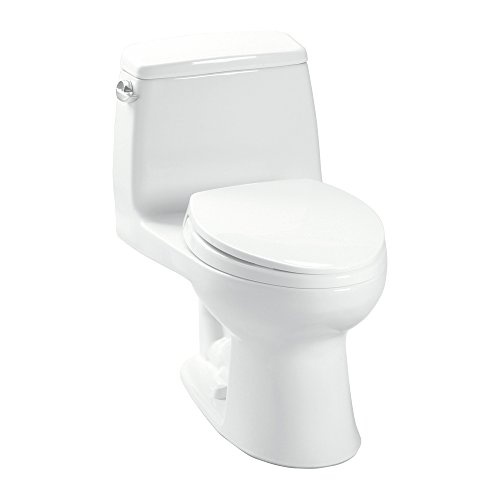 Toton #Toto K-MS854114#01 Toto Ultimate One-Piece 1.6 Gpf Elongated Toilet with Slowclose Seat, Cotton,