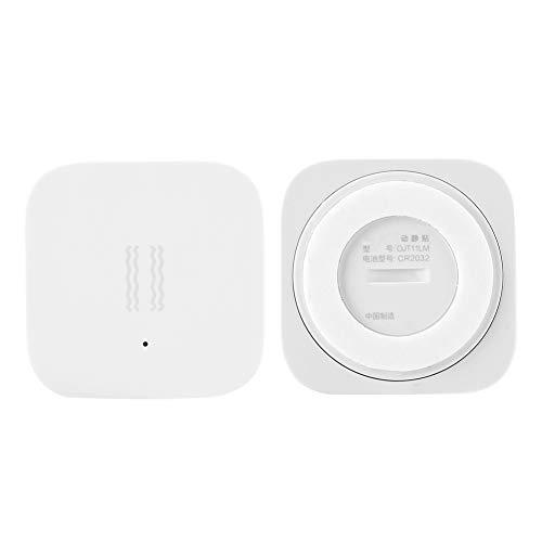 Smart Hub Domótica Automatización Sensor de Vibración Monitoreo para Hogar Dispositivos Inteligentes Protocolo Inalámbrico ZigBee Sensor de Choque para Seguridad del hogar Bajo Consumo Bajo Costo