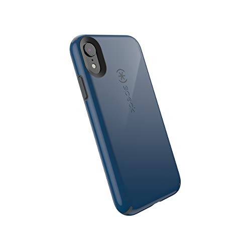 Speck Products CandyShell iPhone XR Case, Deep Sea Blue/Slate Grey