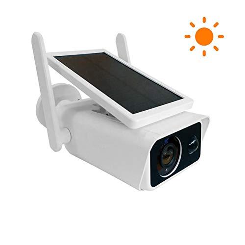 ZJ WiFi Batteria Videocamera di Sicurezza Ad Energia Solare PIR 1080P Videocitofono Consumo Energetico Ridotto Sorveglianza Bidirezionale Sicurezza Antintrusione Vocale per La Casa