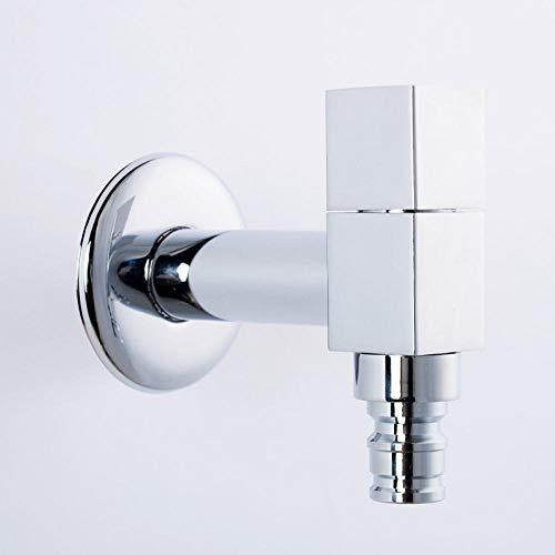 Hiwenr 100% Garantie Messing Chroom Taps Koude Tap Wasmachine Kraan Toilet Tap 304