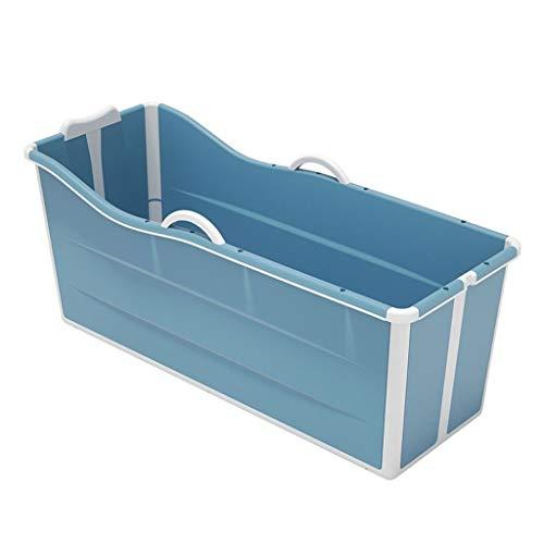 HZX Faltbare Badewanne Erwachsene, Tragbare Folding Kinder Pool SPA Wellness Massage Tragbare Badewanne Haushaltsbadewanne Mit Deckel (Color : D)