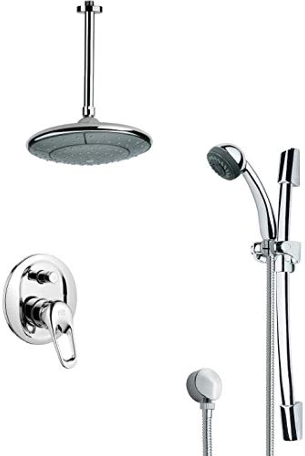 Remer Remer SFR7004 Rendino Pressure Balance Shower Faucet, 8.5  L x 16  W