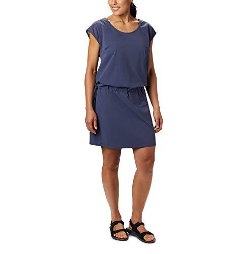 Columbia Peak to Point II Kleid für Damen, Blau (Nocturnal), M