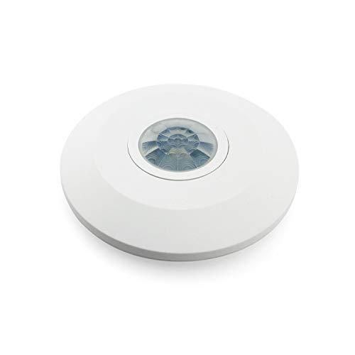 Detector de movimiento de superficie para techo 360º