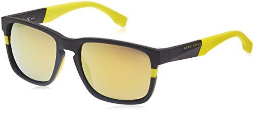Hugo Boss heren BOSS 0916/S C4 1XE 57 zonnebril, zwart (Nero)