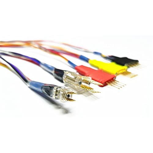 Probe Power Adaptadores de la sonda para el circuito ECU Cables funciona ECU sin soldadoras de alfileres para xprog/IPROG IPRIOG + Programador Herramienta de prueba de diagnóstico Medidor de voltio