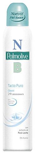 NB Palmolive Tacto Puro, Desodorante Spray, Lote 6 uds x 200 ml