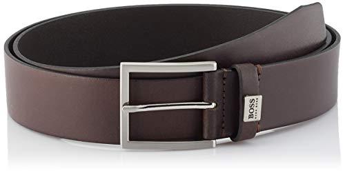 BOSS Sonio_sz40 Cinturón, Marrón (Dark Brown 202), 95 (Talla del fabricante: 80) para Hombre