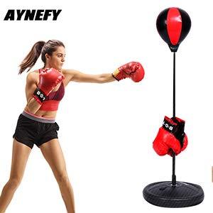 Punching Boxeo, Altura Ajustable Kids Punching Ball de...