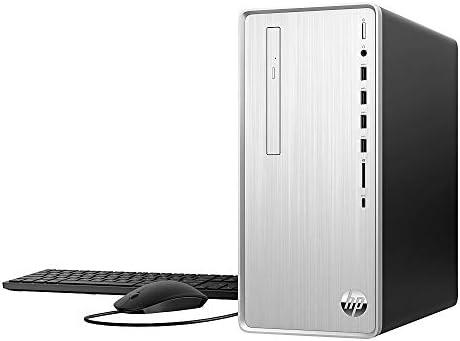 HP Pavillion TP01-066 Gaming Desktop PC, AMD Ryzen 7 3700X (up to 4.4GHz with Boost) 8-Core (Better Than i9-10900), 8GB DDR4 RAM, AMD Radeon RX 550/2GB, 256GB PCIe SSD, DVDRW, HDMI, BT, Wireless AC