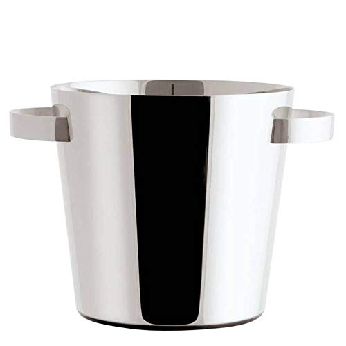 Sambonet Cantinetta Vino 240 mm di Altezza in Acciaio Inox 18/10 Linea Q Ice refrigerante per Vino