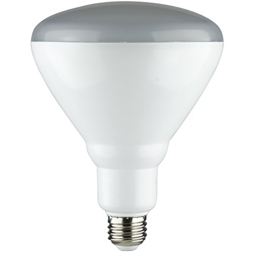 Sunlite BR40/LED/14W/65K 6500K Medium E26 Base Frosted Dimmable LED 60W Equivalent BR40 Reflector Light Bulb, Daylight