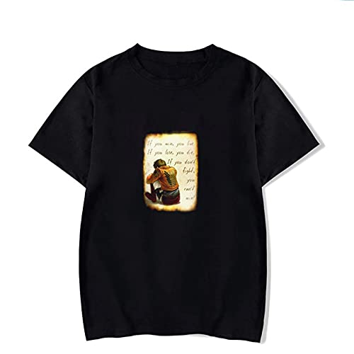SSBZYES Camiseta de Verano para Hombre Camiseta de Manga Corta para Hombre Camiseta de Manga Corta con Cuello Redondo Camiseta de algodón de Manga Corta con Estampado Informal de Moda de Talla Grande