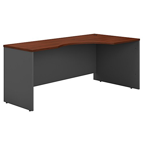 Bush Business Furniture Series C 72W Right Handed Corner Desk in Hansen Cherry