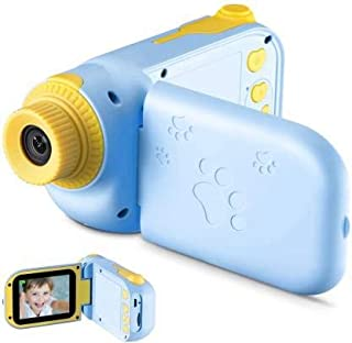 """RUilY® Kids Camcorder 5MP 16MB Memory 2.4"""" TFT Screen Mini for Kids Camcorder Camera (Blue)"""