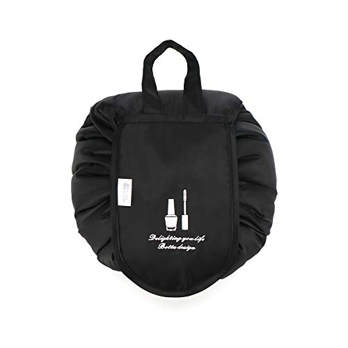 YOUYUANF Lazy Cosmetic Bag Travel Home Grande Capacité Étanche Portable Storage Drawstring Bag Makeup Wash Bag