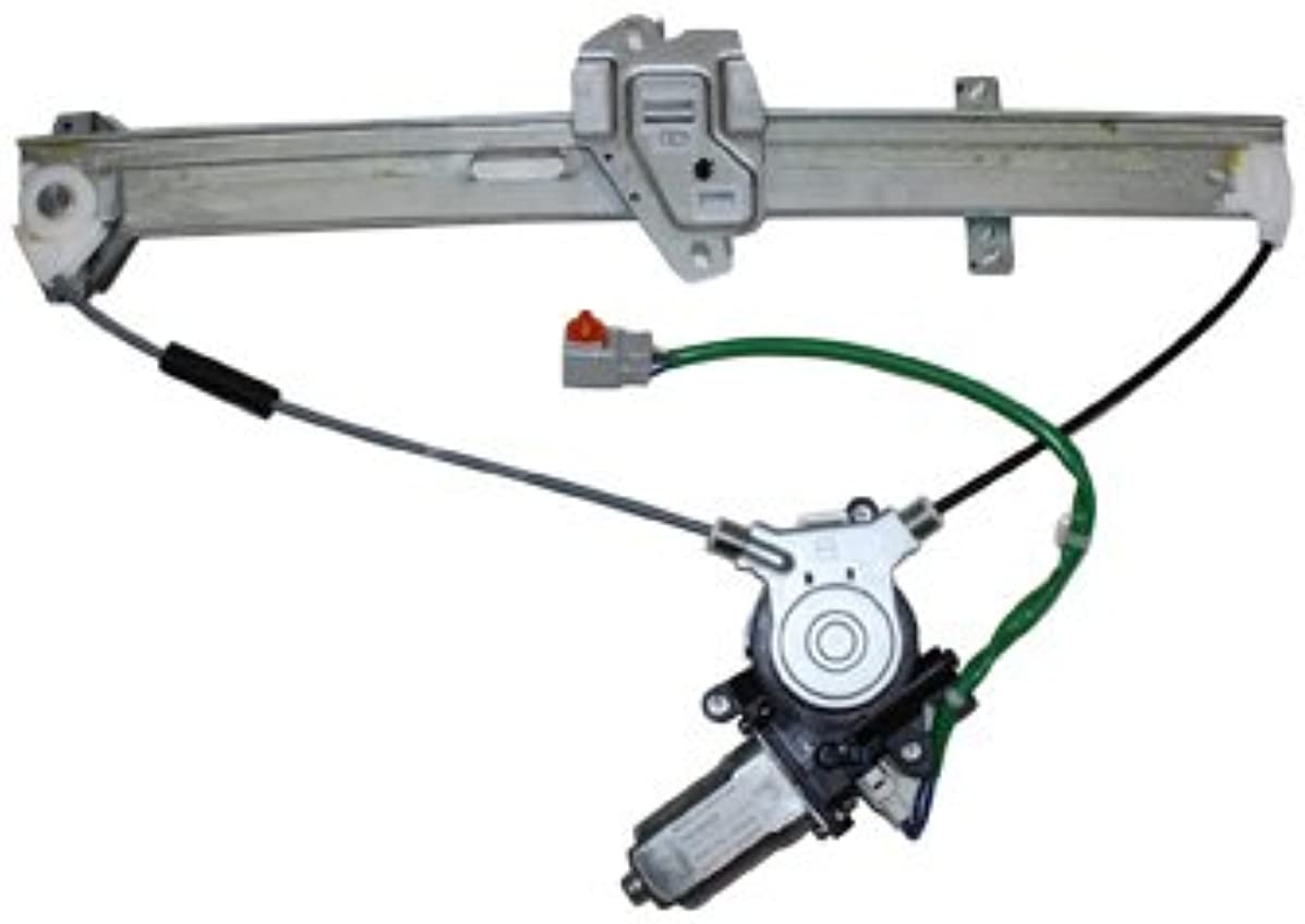 TYC 660056 Honda Fit Front Driver Side Replacement Power Window Regulator Assembly with Motor
