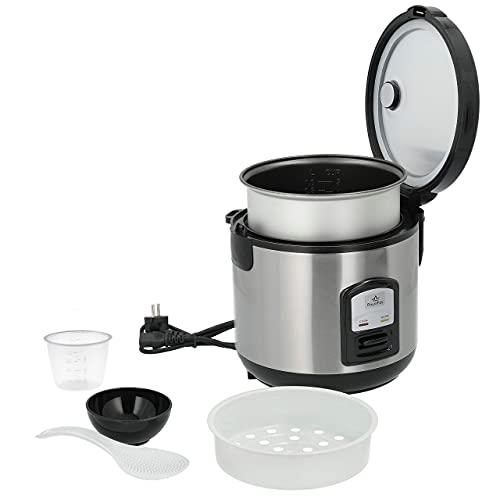 RoyalFay Reiskocher mit Reiskugelformer und SpezialAnleitung 1 Liter Automatikfunktion Antihaftbeschichtung Warmhaltefunktion