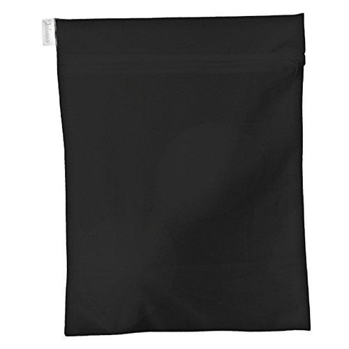 Julimex Wäschetasche, Farbe: Schwarz, Größe: Large: 30 cm x 40 cm