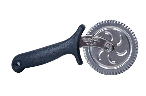 Edgewheel  USA Made Pizza Cutter Wheel with Handle | Cuts and Separates Uniquely Designed | Restaurant Quality Stainless Steel
