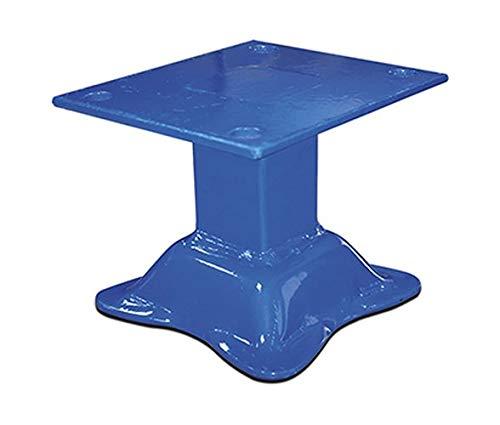 Füße für Plattenständer RAL5010 Enzianblau Tafelregal Tafelregal Plattenregal