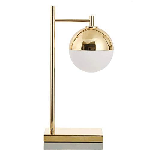 JYDQM Lámpara de Mesa Lámpara de Sala de Estar Minimalista Moderna Lámpara de Dormitorio de Estilo Americano Lámpara de Estudio Creativa Lámpara de Oficina Especial