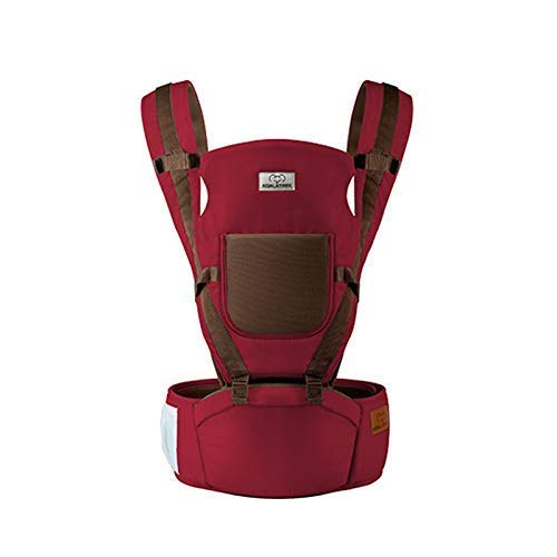 Porte-bébé universel Sling Sac à dos de sécurité multi-positions pour siège de hanche Confortable Durable, Sangle de fixation Respirant Tabouret de taille pour nourrissons pour tout-petit nouveau-né