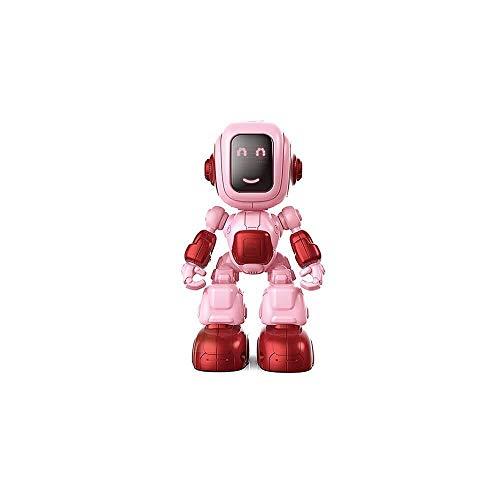 ADLIN Al aire libre Juguetes educativos, Robot Rc inteligente de control remoto del robot inteligente Programación Gesto de detección del robot, Baile Canto Caminar Rc juguete con la batería recargabl