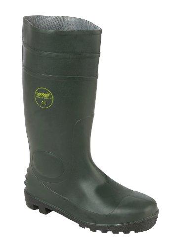 Parent Units WSM30GRN9 - Scarpe di sicurezza uomo, colore verde (grün), taglia 47 EU (12 UK)