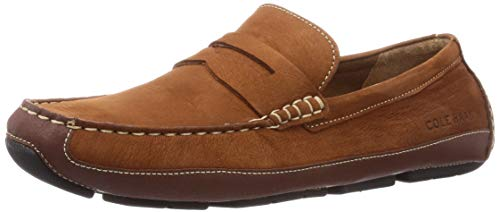 Cole Haan Men's Wyatt Penny Driver Driving Style Loafer, BRITISH TAN,9