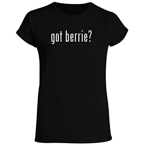 got berrie? - Women's Crewneck Short Sleeve T-Shirt, Black, X-Large