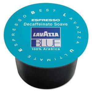 Cápsulas Espresso Lavazza Blue Cápsulas, Tostado Medio Descafeinado, 8G, 100/caja