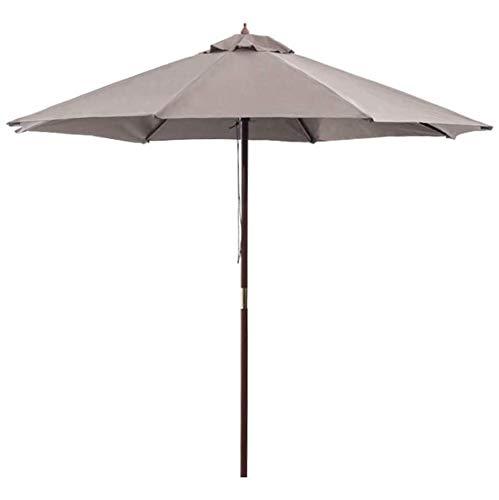 CHLDDHC Sombrilla Colgante en voladizo de 3,0 m, sombrilla de jardín Grande en Aluminio, protección UV Resistente y Ligera para Playa/Piscina/Patio