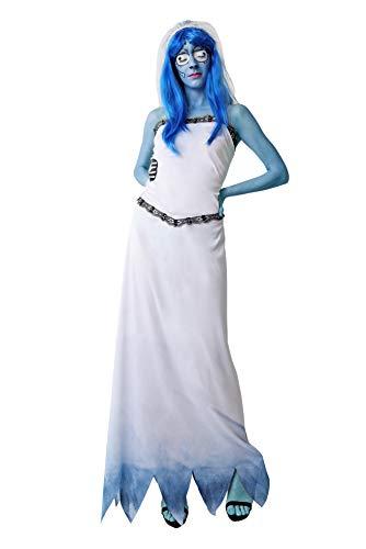 Costumizate! Disfraz de Novia Cadaver para Adulto Talla Unica Halloween