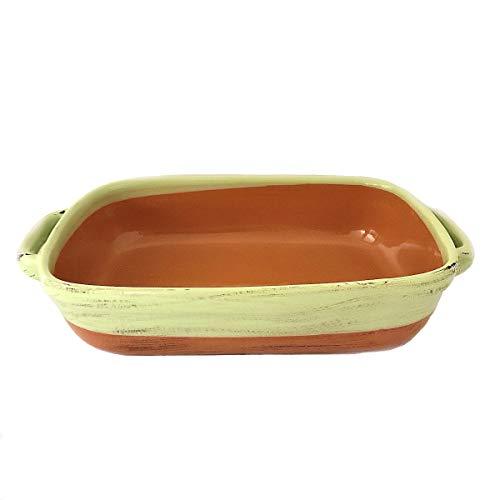 Classics Large Rectangular Baker, 13 x 9', Lasagna Pan Made in Italy, Stoneware Baking Dish, Ceramic Baker Casserole Dish, Mom Gifts