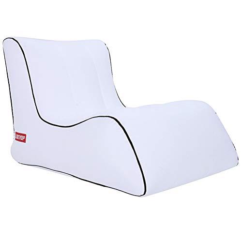 Blankspace Perezoso sofá inflable al aire libre playa perezoso saco de dormir cama inflable portátil sofá de aire