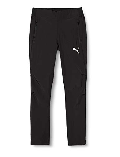 PUMA Unisex-Kinder Liga Sideline Woven Pants Jr Hose, Schwarz (Puma Black-Puma White), Gr. 164